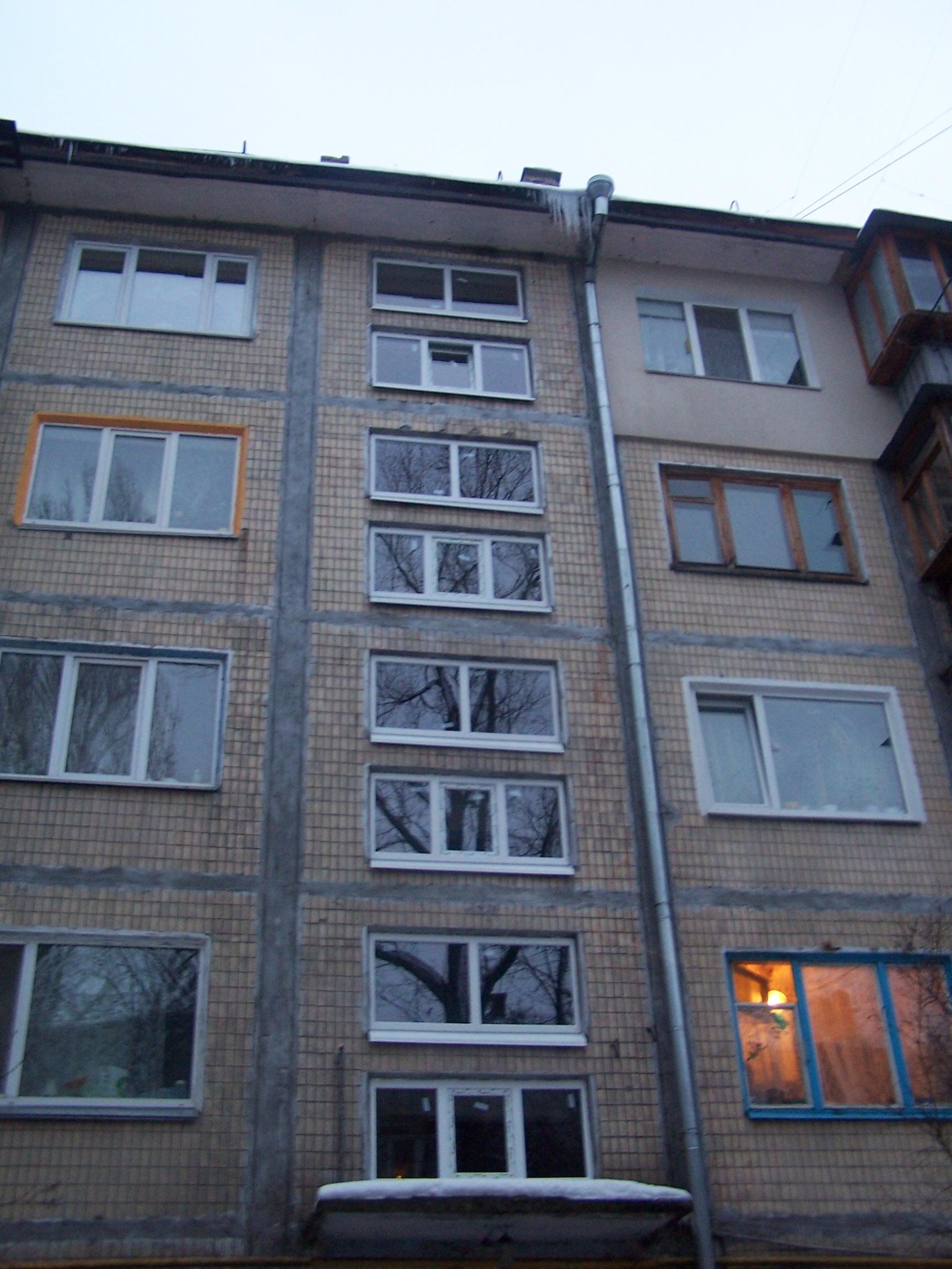 Капітальний ремонт - заміна віконних блоків