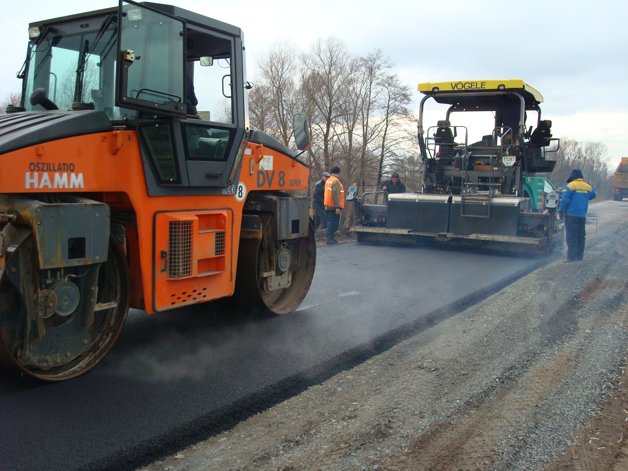 Будівництво автодороги Київ-Одеса